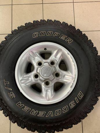 255/85 R16 Cooper S/T диски Land Rover