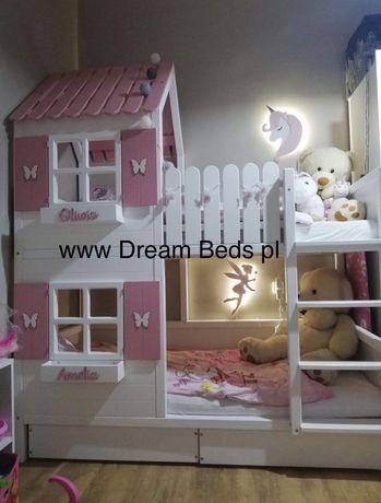 Łóżko piętrowe domek Dream Beds
