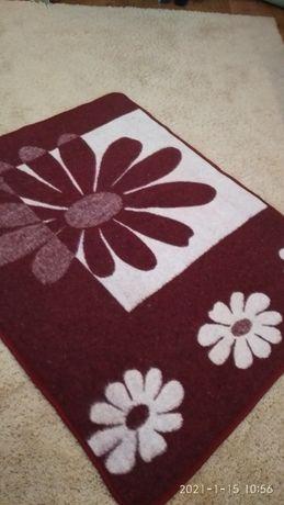 Детское шерстяное одеяло 130 х100 см, пододеяльник в подарок