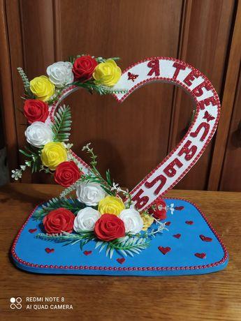 Ручна робота з валентином.