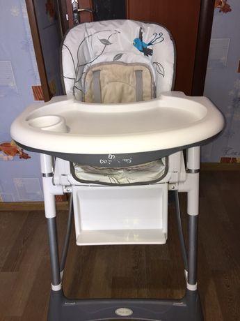 Стульчик для кормления Baby design+ПОДАРОК