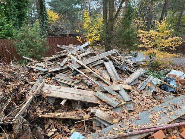 Oddam drewno opałowe, deski, suche gałęzie na opał