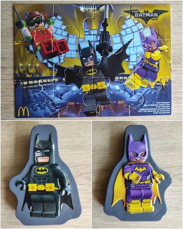 Фирменный пазл Бэтмен Batman в металлической коробке. LEGO. DC Comics