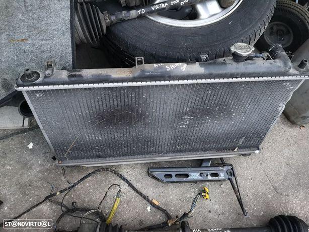 radiador agua kia shuma 2000