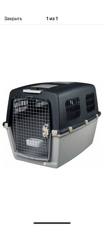 Перевозка переноска пластмассовая для собак