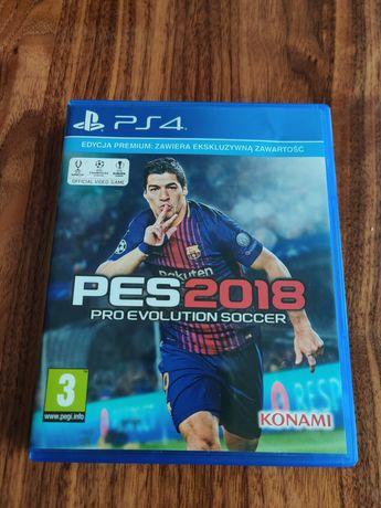 Pro evolution soccer 2018 PES 2018 ps4