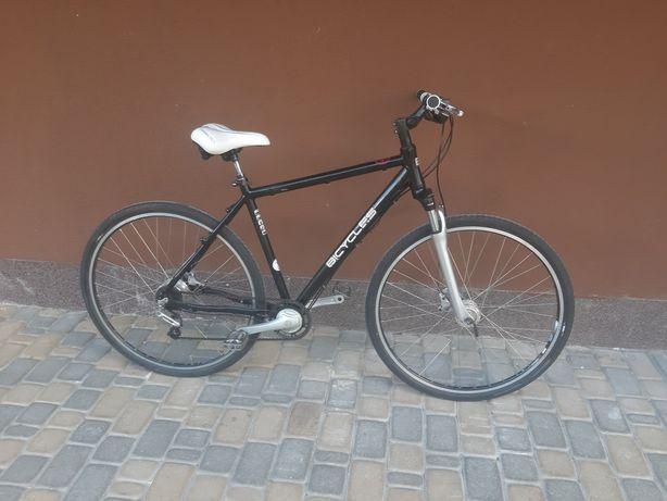Классный велосипед, планетарка, гидравлика, багажник