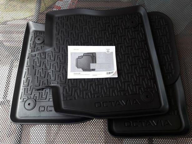 Коврики оригинал Skoda Octavia A7 A5 Kodiaq Karoq Superb Scala Октавиа