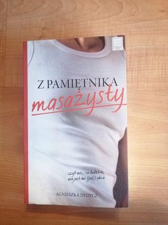 """Książka """"Z pamiętnika masażysty"""""""