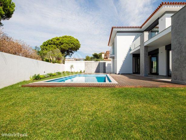 Moradia T5+1 nova com jardim, piscina e garagem, em Birre...