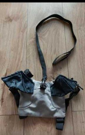 Plecak, szelki do nauki chodzenia