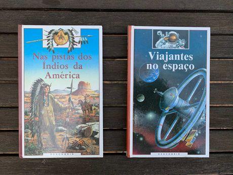 Livros Juvenis - Indios e Espaço