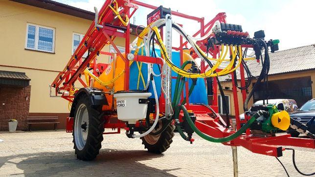 Opryskiwacz hydraulika KWAS 2000l/15M lance pełna hydraulika