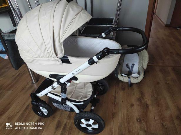 Wózek 3w1 Eco skóra