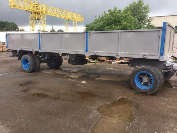 Причіп до грузового автомобіля довж. 8м.