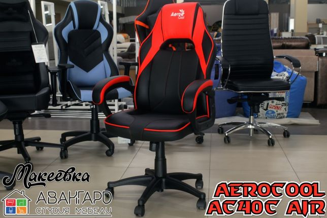 """Геймерское компьютерное кресло из экокожи """"AeroCool AC40C AIR"""""""