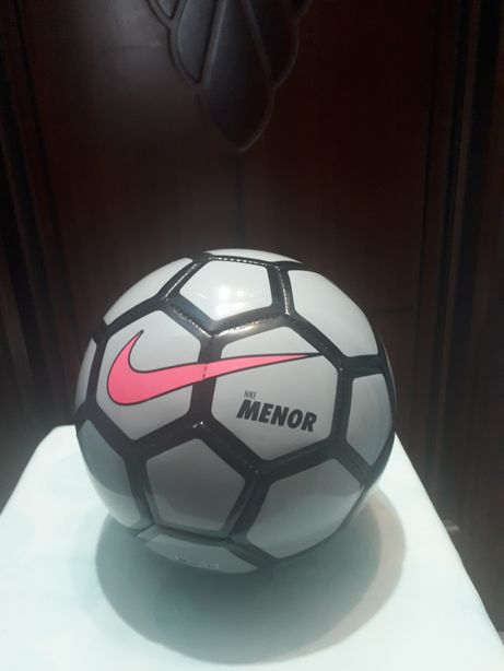 Мяч Nike Menor по футзалу (волк серый / черный / розовый) (Pro)