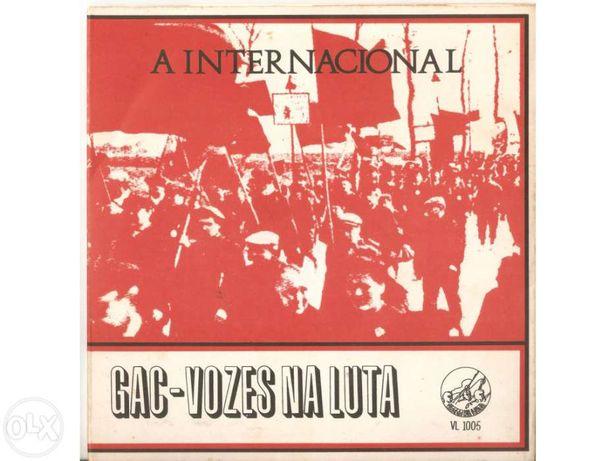Vinil 45 rpm -  a internacional