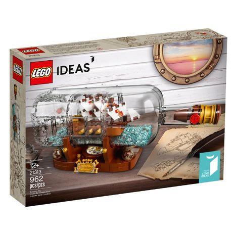 Lego Ideas Корабль в бутылке 21313