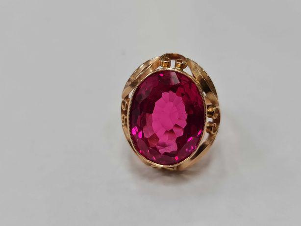 Wiekowy! Wyjątkowy złoty pierścionek/ 585/ 9,92 gram/ R17/ JPU