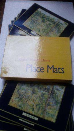 Marcador / place mats Paul Cézanne