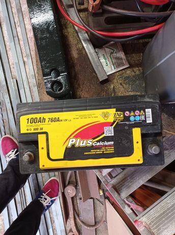 Akumulator plus calcium 100AH 760A