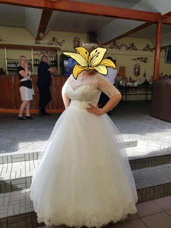 Продам красивейшее свадебное платье ,цвет Айвори