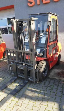 Nowy wózek widłowy HC Hangcha 2,5T LPG maszt 3000mm, pełna kabina