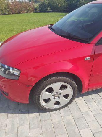 Audi a3 8p sportback błotnik lewy przód LY3J