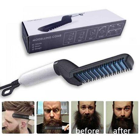 Випрямляч для бороди і волосся ng-MODELLING Чоловіча плойка праску