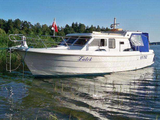 Jacht motorowy houseboat 9.5m, 4 os.