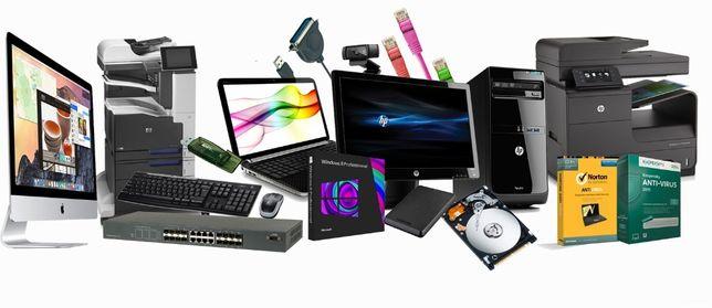 Компьютерная помощь и обслуживание (выезд на дом/офис/объект)