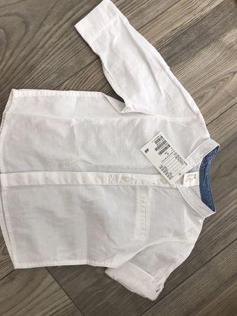 Nowa koszula chlopieca rozmiar 68 z h&m