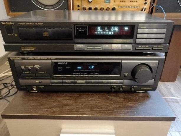 Technics Amplituner SA-EX300 + Technics CD SL-P202A