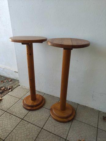 2 Mesa Bar / café / esplanada madeira pinho maciço