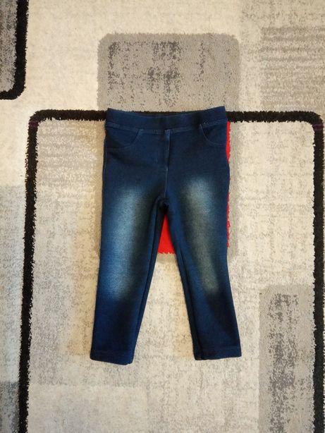 Spodnie legginsy r. 86/92 dla dziewczynki f. Lupilu z Lidla