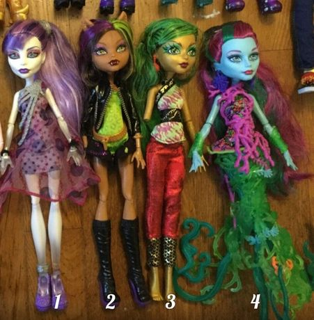 Куклы Monster High (Монстр Хай Оригинал Mattel