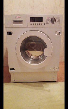 Máquina Bosch de lavar e secar de encastre