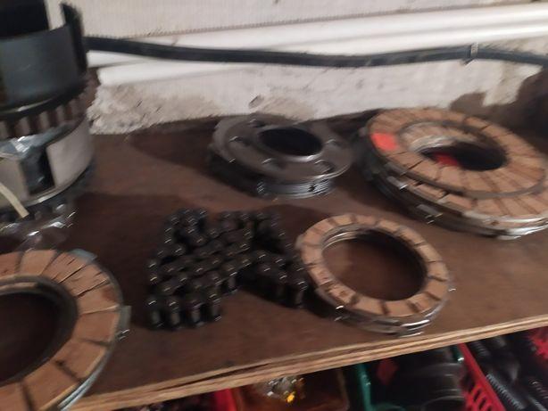 Kosz sprzęgła WSK 125 wfm SHL 175 tarcze sprzęgłowe łańcuszek koszyk
