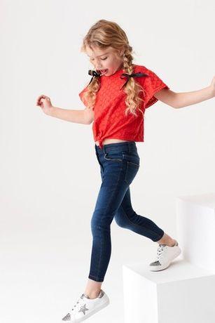 Джинсы-скинни Next для девочки 9-11 лет.