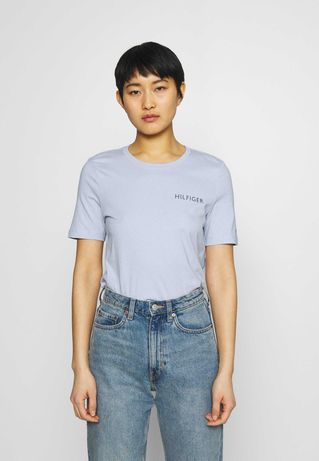 koszulka t-shirt Tommy Hilfiger S 36 logo nowa