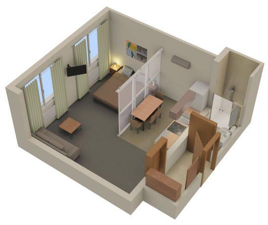 Apartamenty 1-2 pok na czas remontu, wykończenia, odbioru Twojego domu