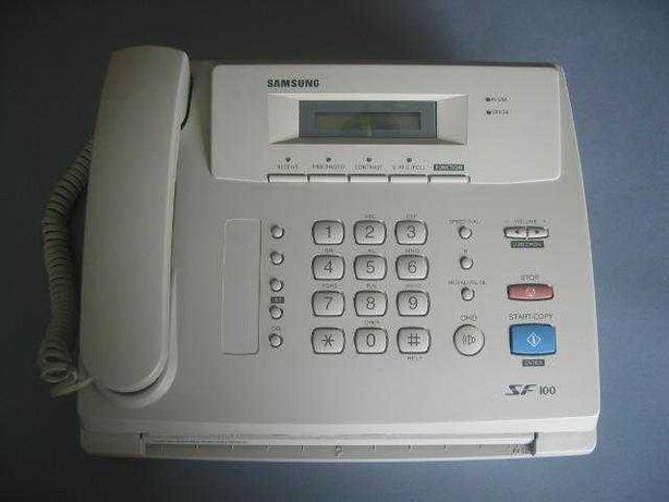 Fax Samsung SF100 (Aceito propostas)