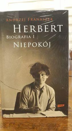 Nowa - A. Franaszek - Herbert Biografia Tom1 Niepokój Tom2 Pan Cogito
