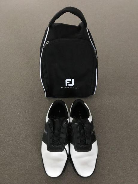 Buty do golfa NIKE wraz z torbą FootJoy rozmiar 43-45