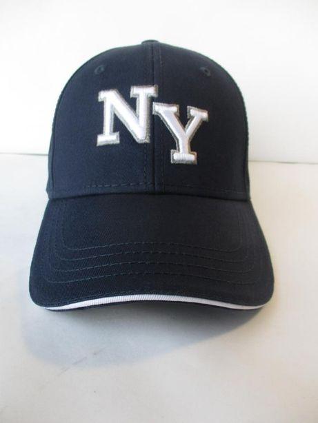 Бейсболка мужская кепка новая темно-синяя котон 100%