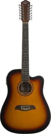 Oscar Schmidt OD 312CE TS gitara akustyczna 12-strunowa