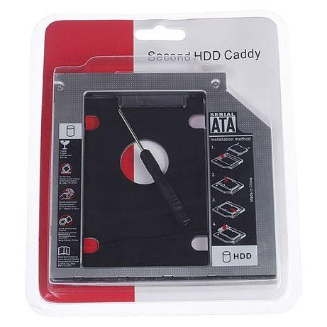 Adaptador Caddy SATA SSD/HDD para Drive CD/DVD/Blu-ray 12.7mm