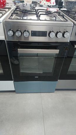 Beko FSE52320DXD Kuchnia gazowo-elektryczna
