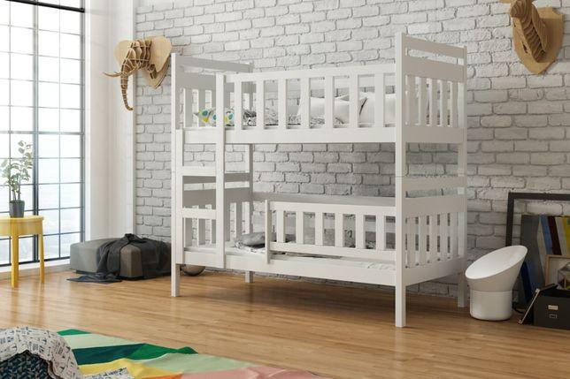 Drewniane łóżko dla dwójki dzieci STAŚ SLIM 160x75